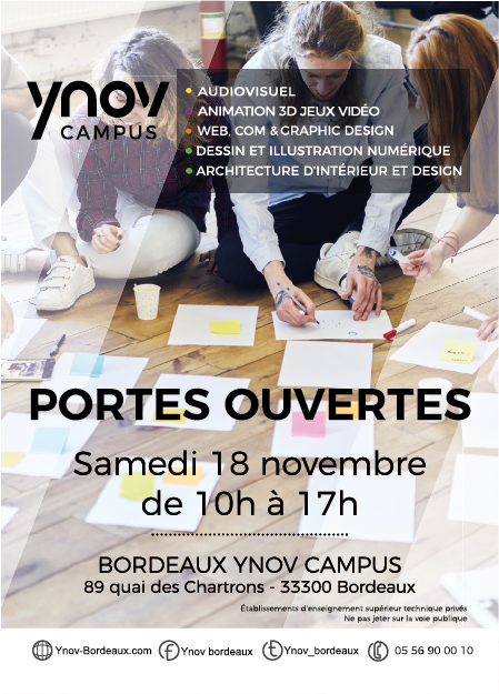Flyer JPO Ynov Bordeaux 18 Novembre